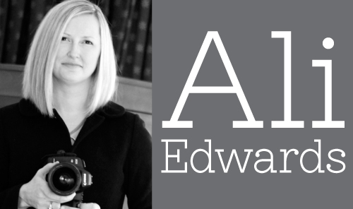 Ali Edwards scrapbooking