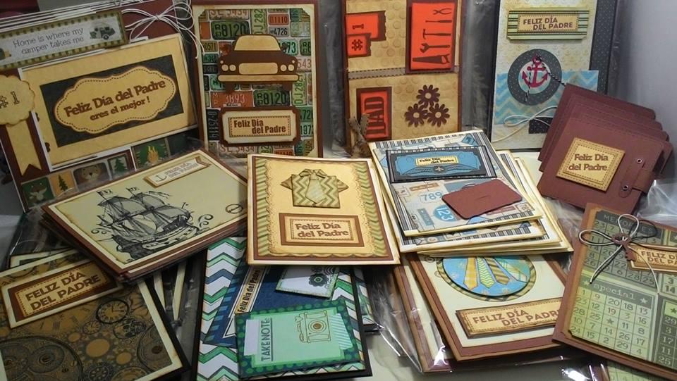 tarjetas scrapbook para el dia del padre