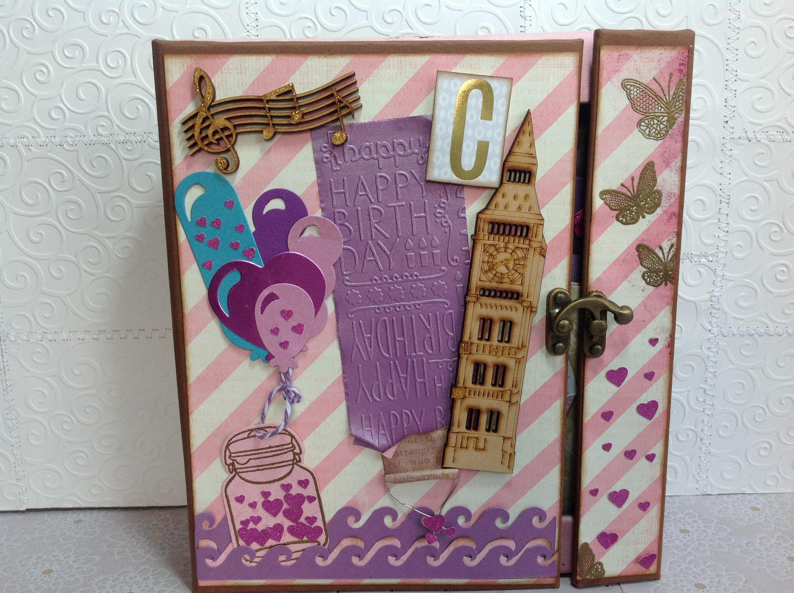 Album scrapbook de cumpleaños para niña (1)