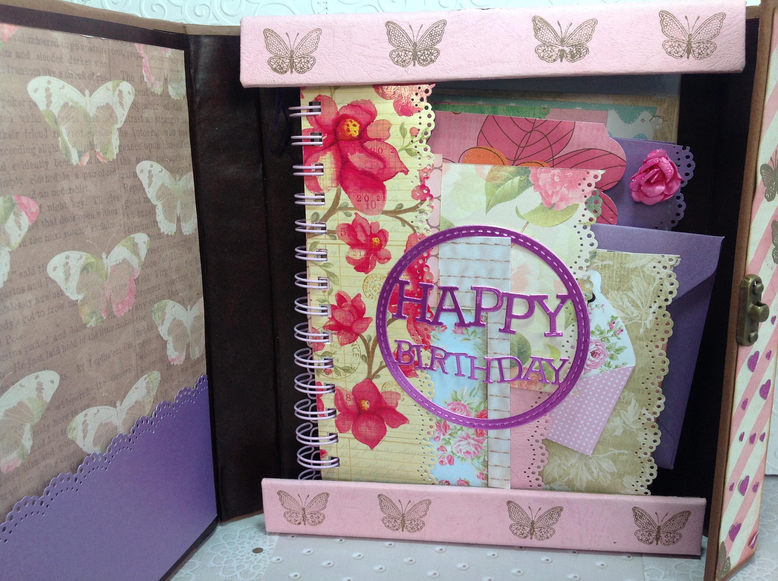 Album scrapbook de cumpleaños para niña (5)
