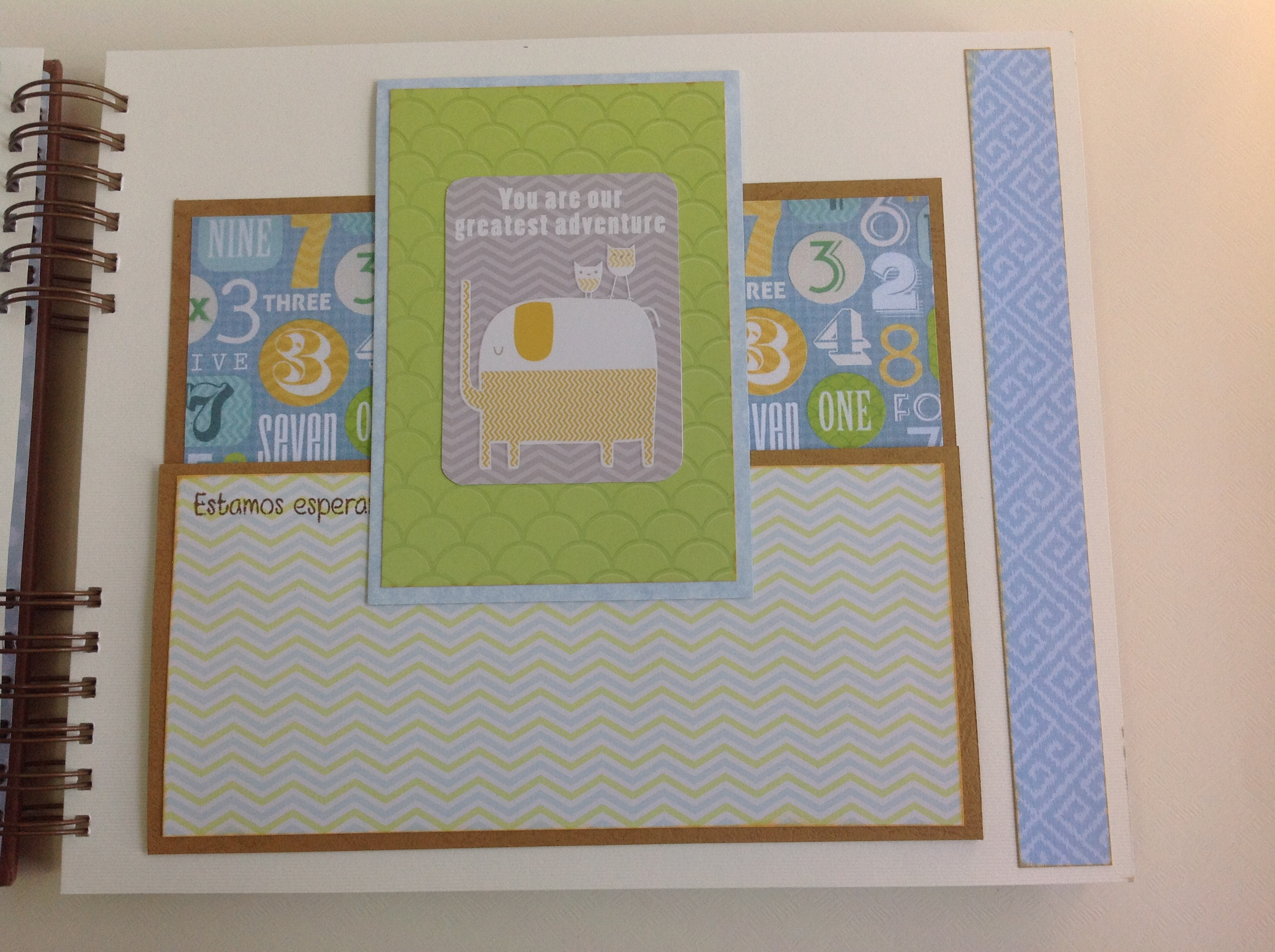 Album scrapbook para baby shower o bebe (11)
