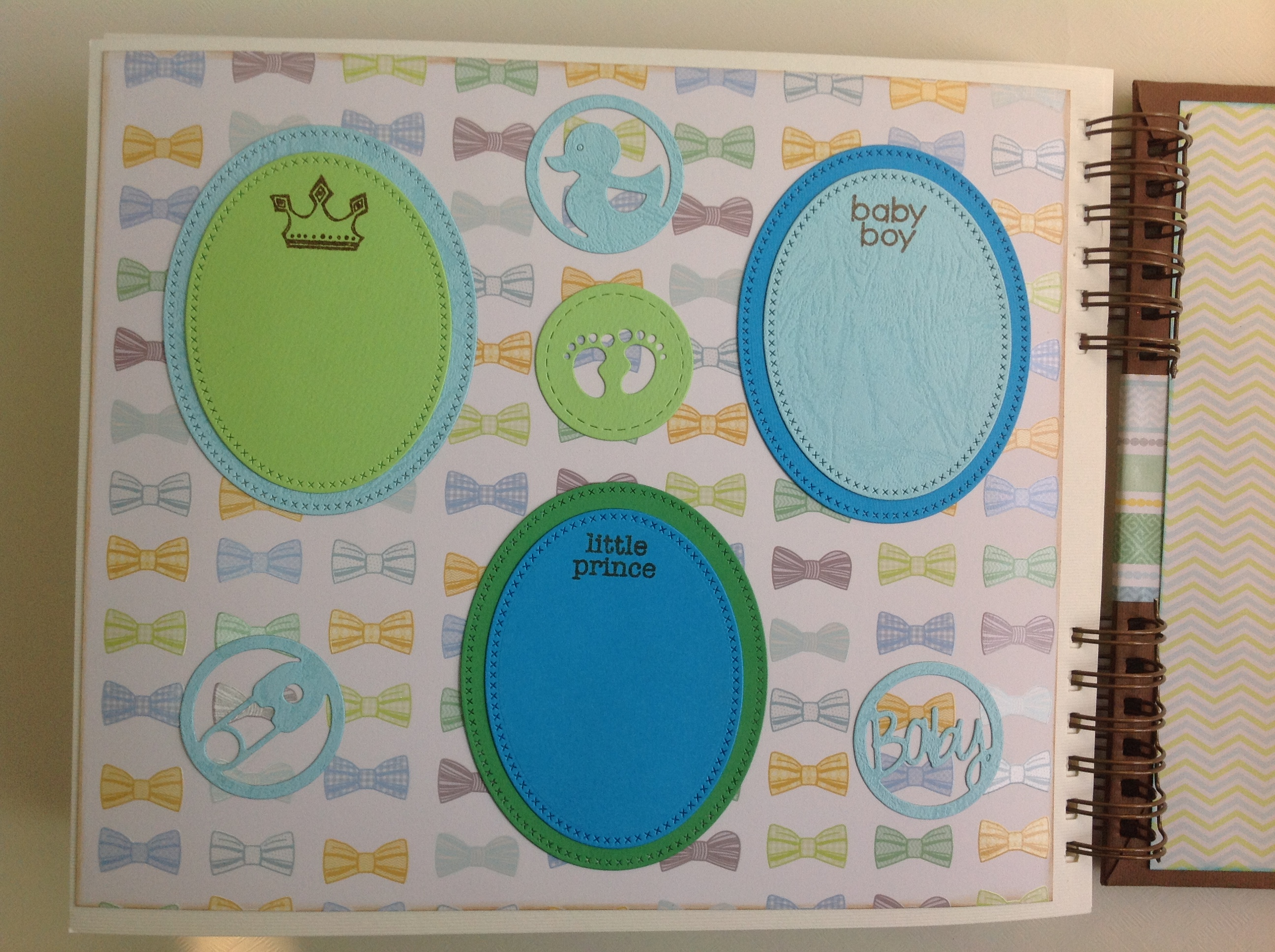 Album scrapbook para baby shower o bebe (31)