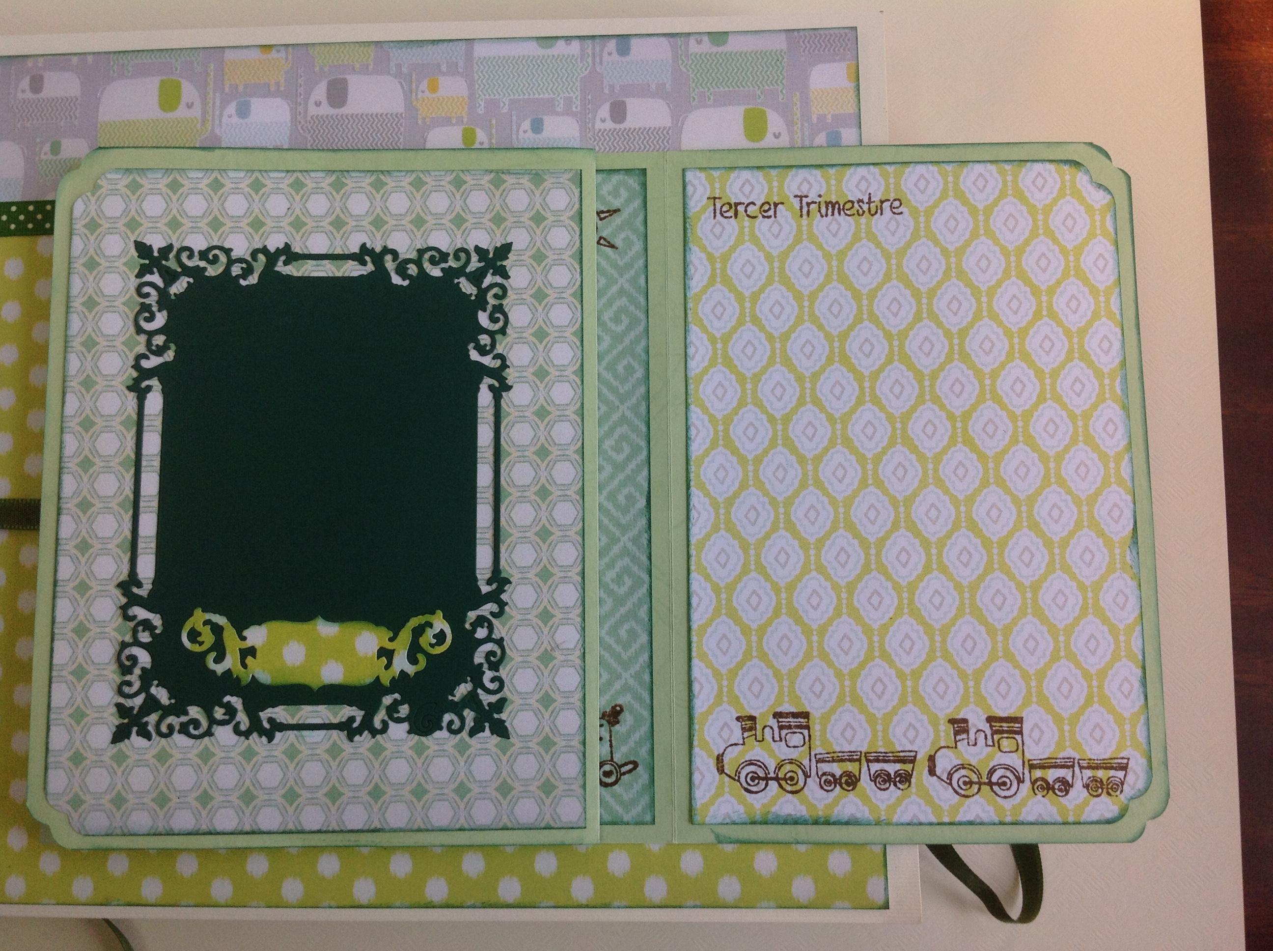 Album scrapbook para baby shower o bebe (5)