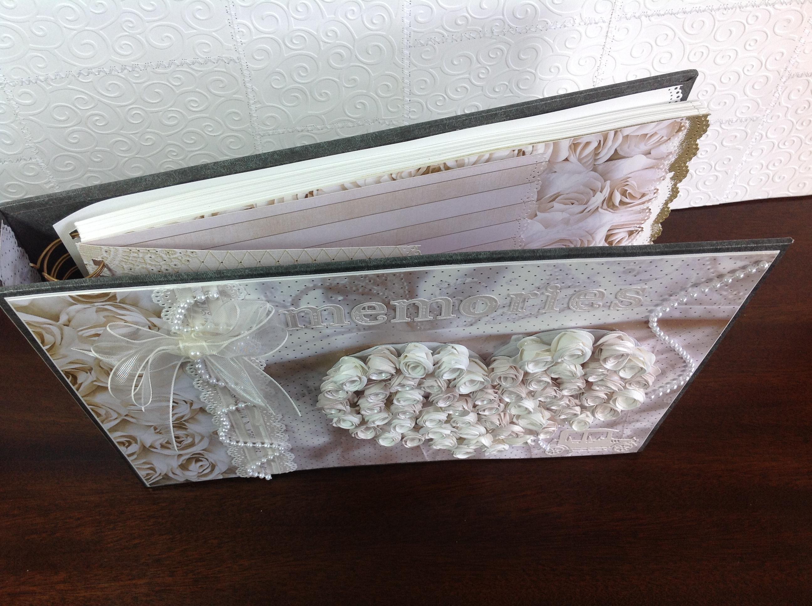 album libro de firmas para boda corazon con rosas (12)