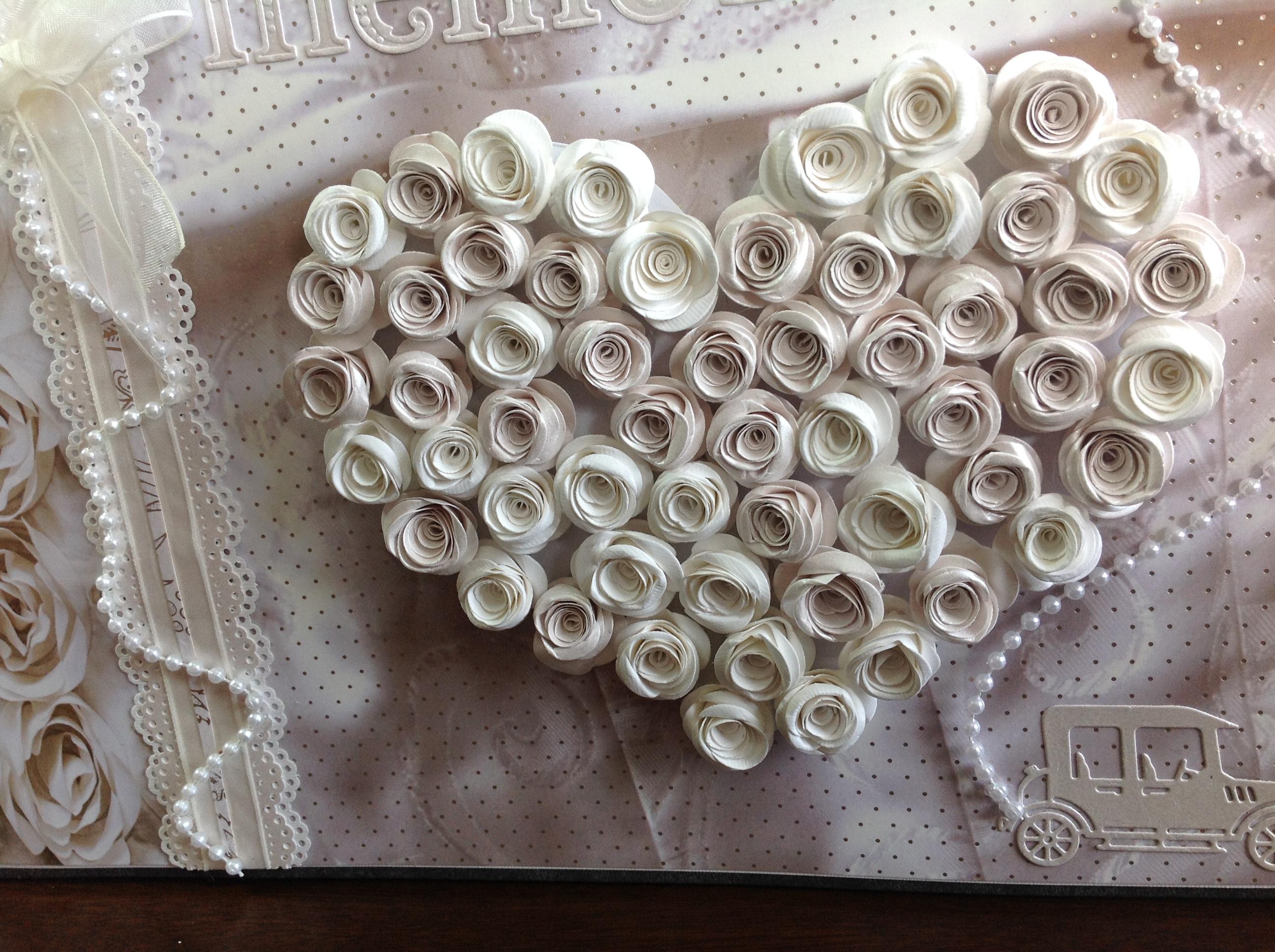 album libro de firmas para boda corazon con rosas (2)