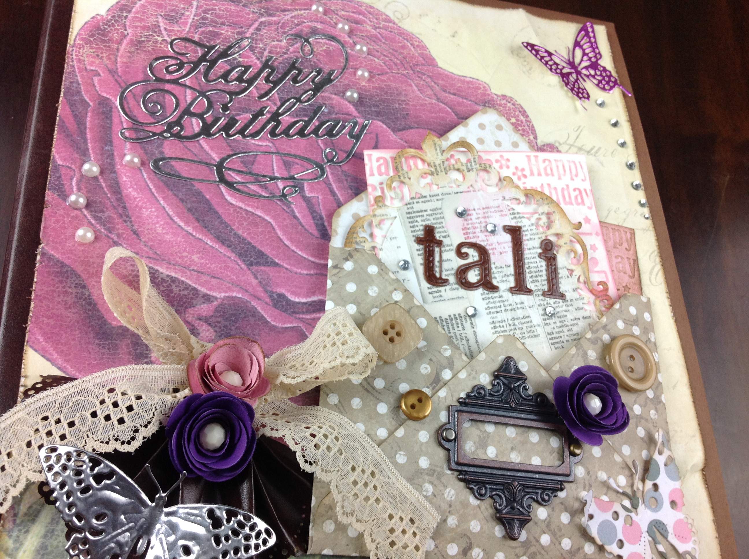 Album (Scrapbook) Happy Birthday / You and me