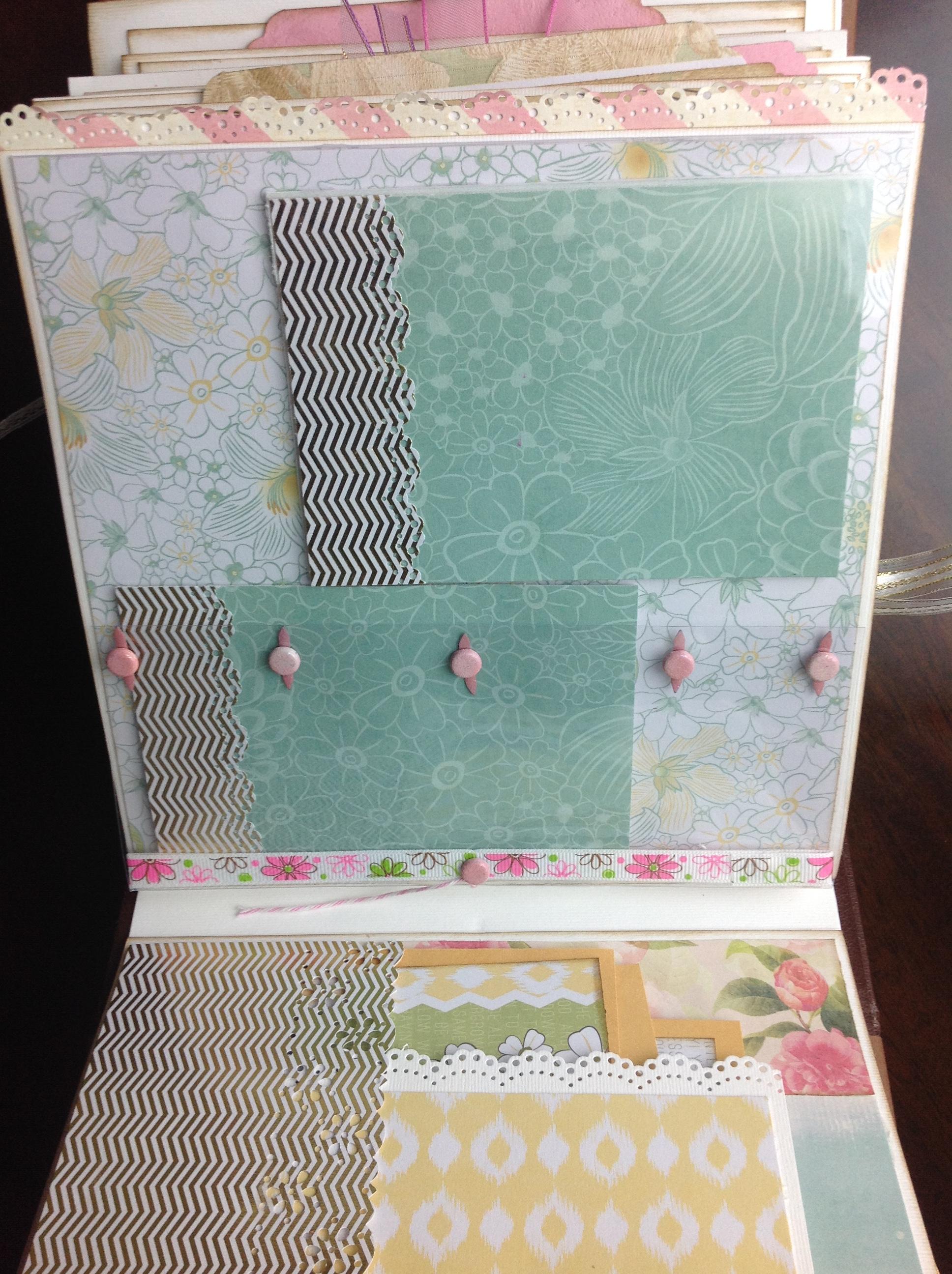 album scrapbook para cumpleaños de niña (15)