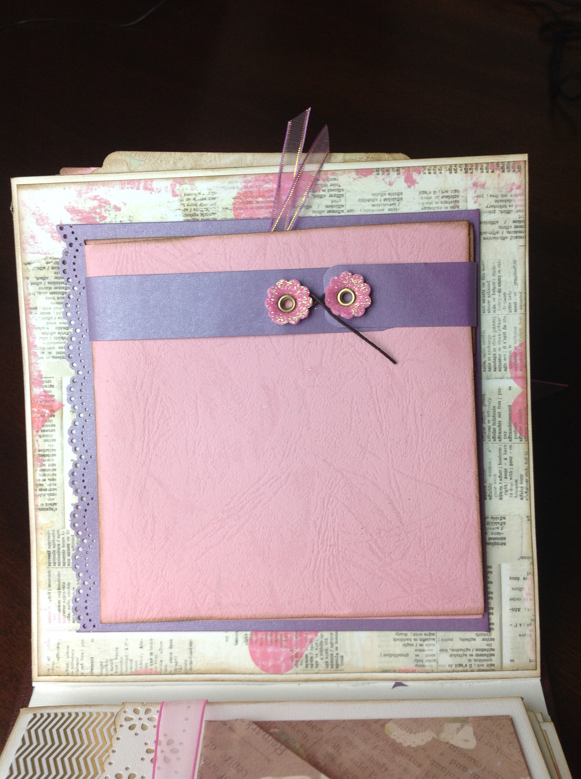 album scrapbook para cumpleaños de niña (7)
