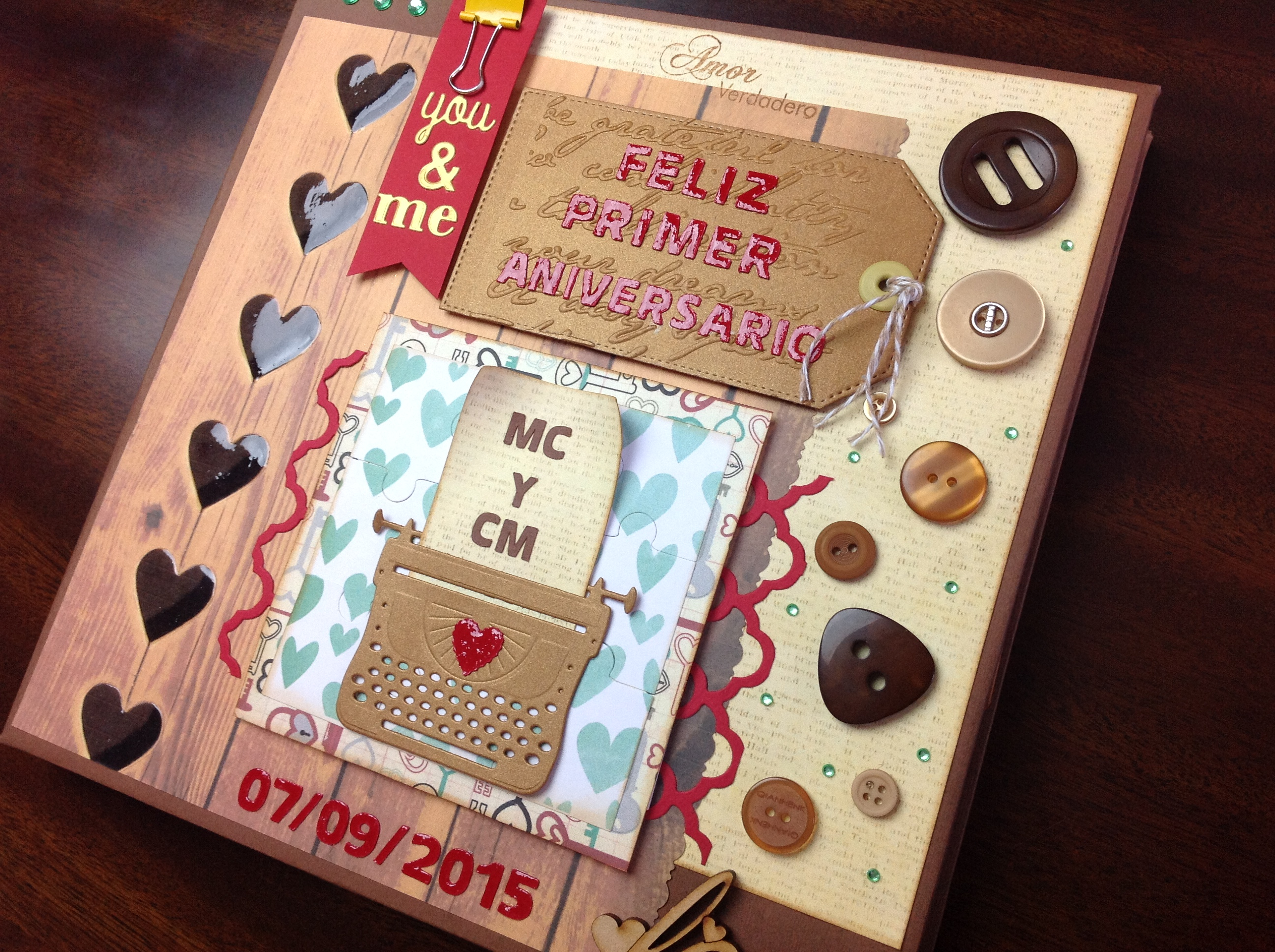 Album (Scrapbook) You and me