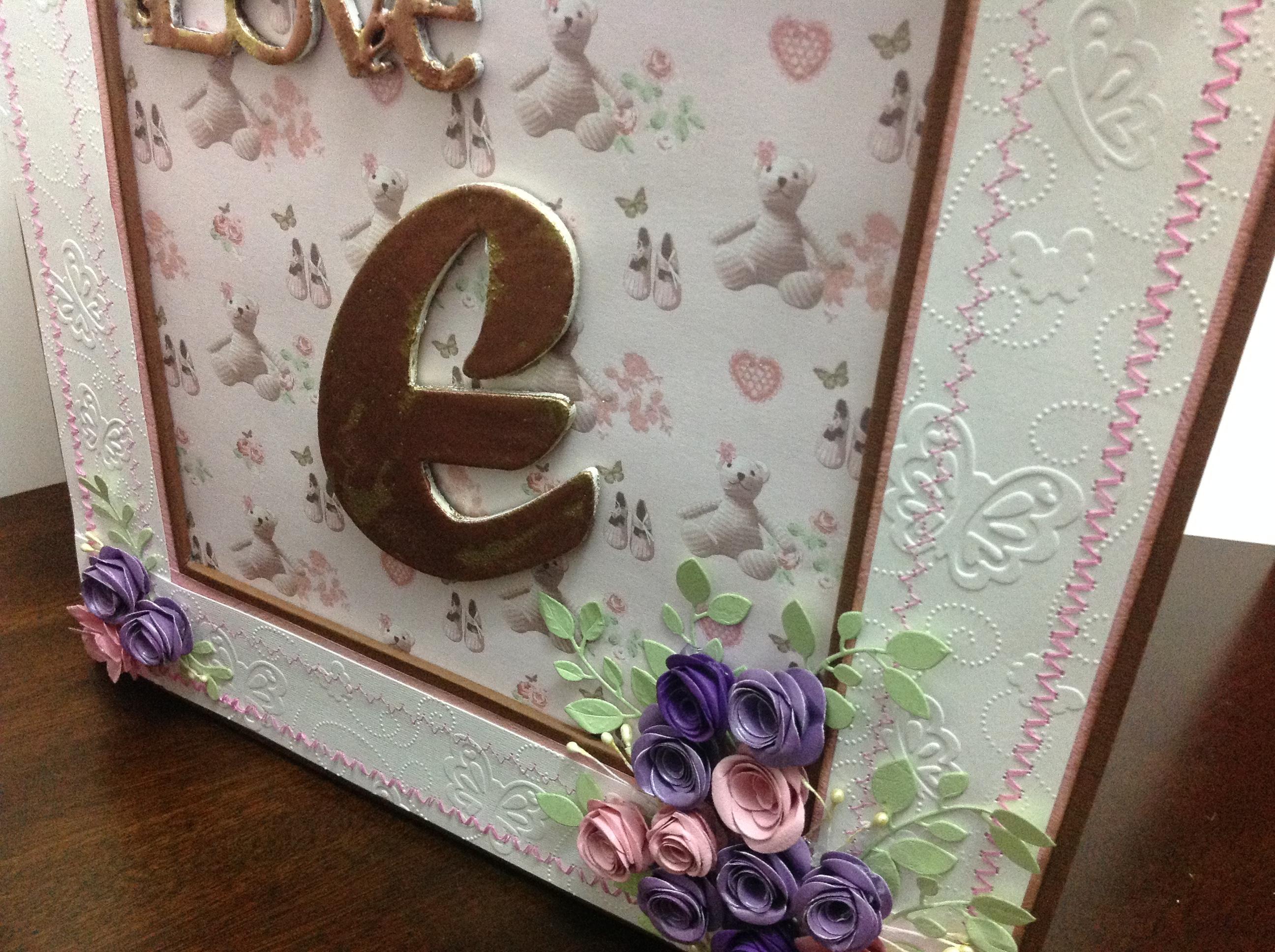 caja para album scrapbook para cumpleaños de niña (5)
