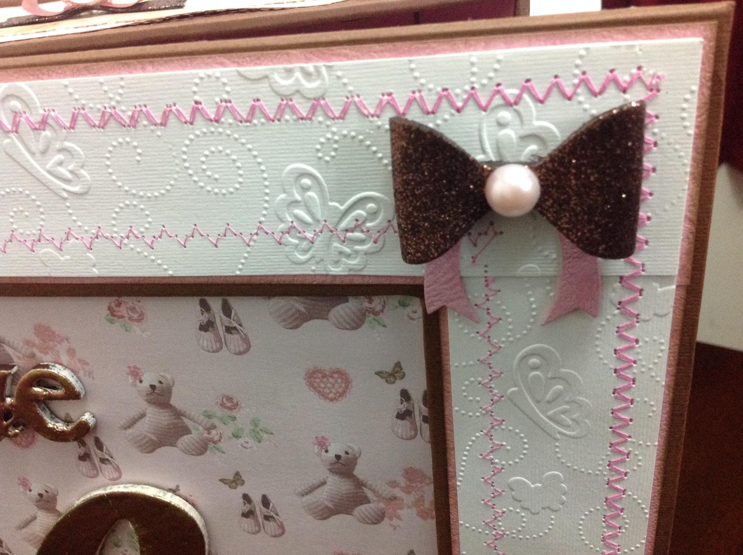 caja para album scrapbook para cumpleaños de niña (8)