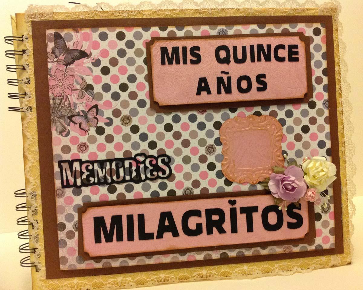Album y libro de firmas para Quinceañero