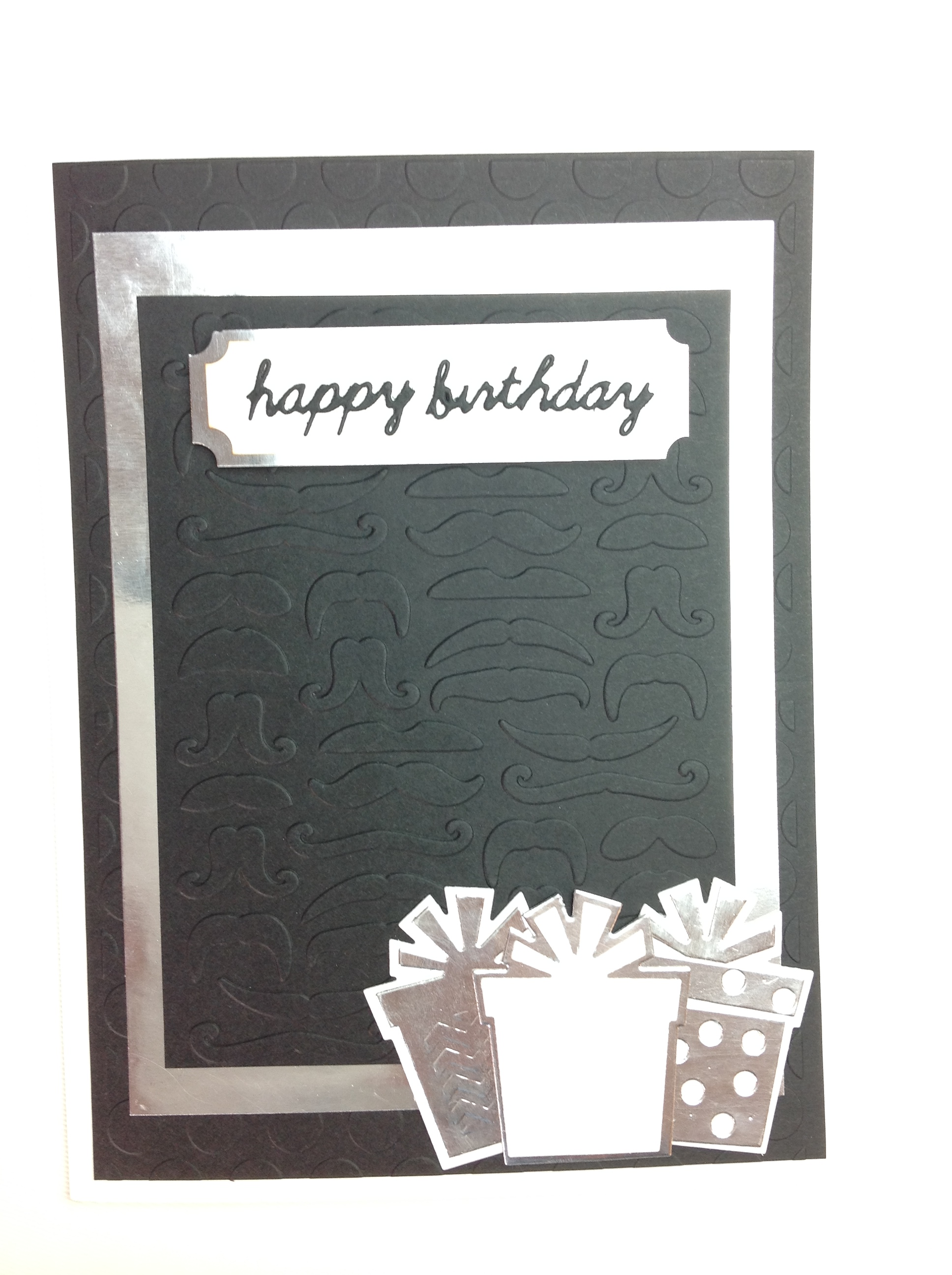 tarjeta scrapbook cumpleaños hombre