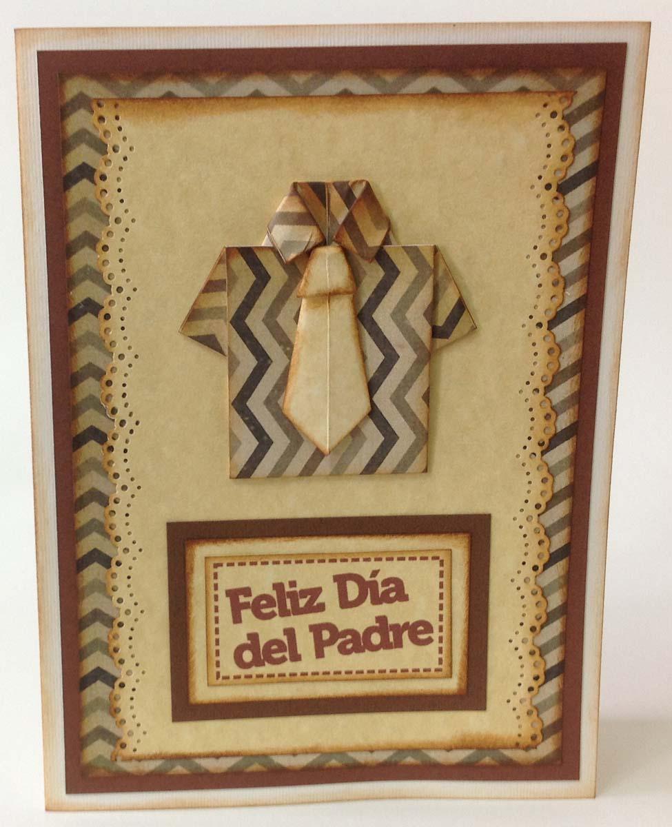 tarjeta scrapbook para el dia del padre (6)