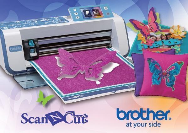 Scan N Cut CM-550 de Brother + Características y Beneficios