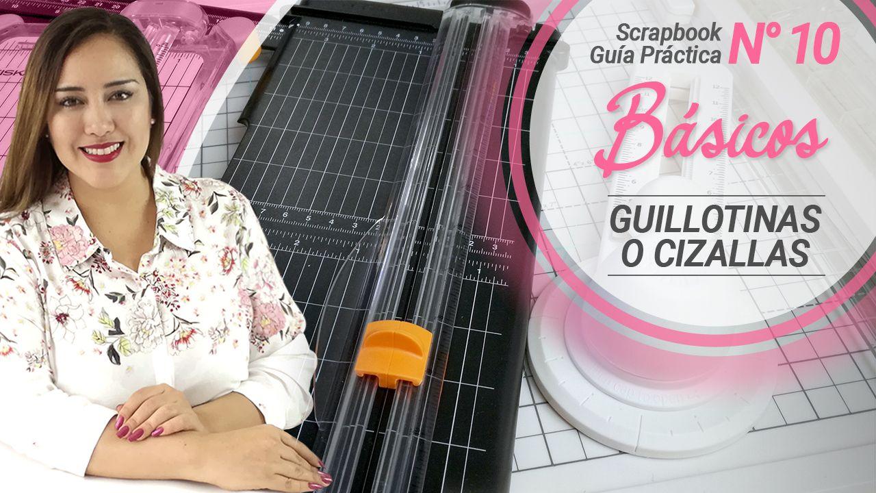 Materiales Básicos para iniciar en el Scrapbooking – Las Guillotinas