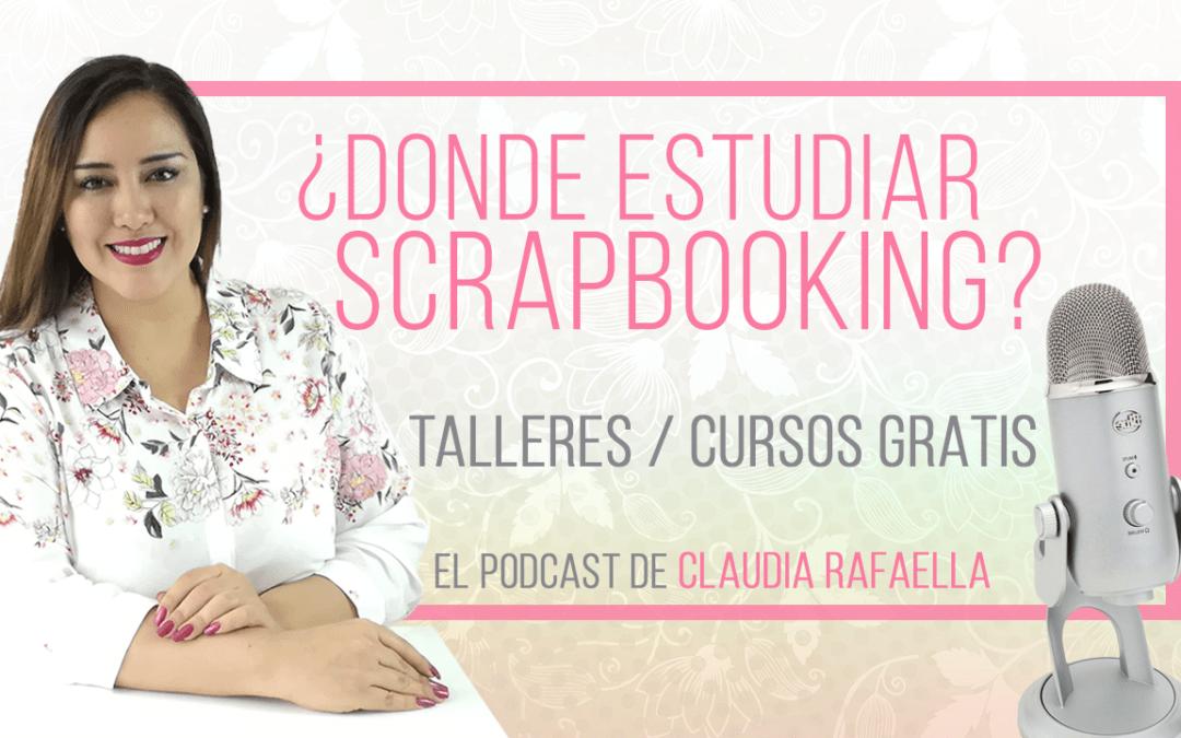 Cursos Presenciales y Online para Scrapbooking y Scrap