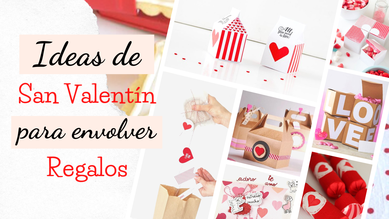Ideas de San Valentín para Envolver Regalos | Inspirado en Pinterest
